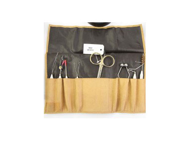 Silver Tool Set/8 Leather Kit